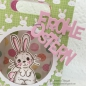 Preview: JM Creation - Stanzschablone Frohe Ostern