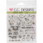 *NEU C.C. Designs - Clear Stamps Forest Pixie