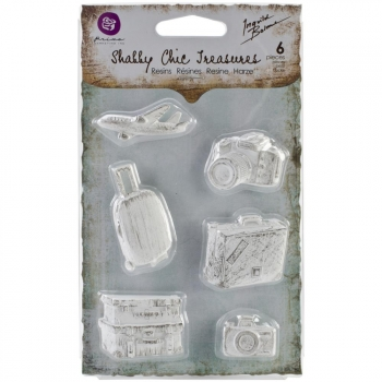 Prima Marketing - Shabby Chic Treasures Resin Explore