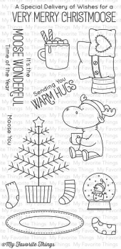 My Favorite Things - Clear Stamps Merry Christmoose