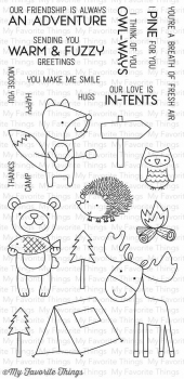 *NEU My Favorite Things - Clear Stamps Warm & Fuzzy Friends