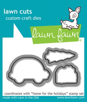 *NEU Lawn Fawn - Home for the holidays Dies