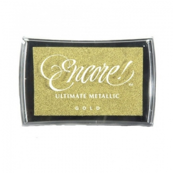 *NEU Tsukineko - Encore Ultimate Metallic Ink Pad Gold