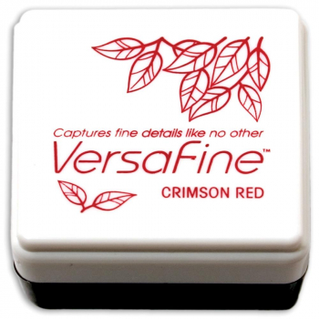 *NEU Tsukineko - VersaFine Small Ink Pad Crimson Red