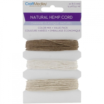 Multicraft Imports - Natural Hemp Cord