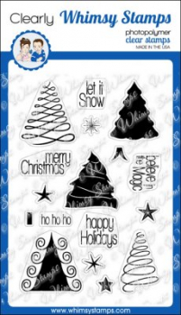 *NEU Whimsy Stamps - Oh Christmas Tree - PRE-ORDER