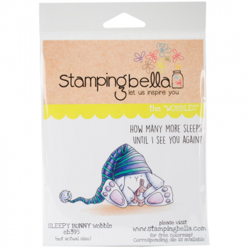 *NEU Stamping Bella - Cling Stampy Sleepy Bunny Wobble