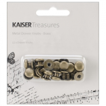 *NEU Kaisercraft - Metal Drawer Knobs Brass