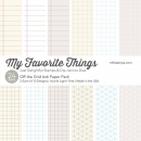 *NEU My Favorite Things - Off the Grid Paper Pack 6x6
