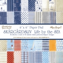 "Maja Design - Scrapbooking Papier Life by the Sea Paper Stack 6x6"" - 36 Seiten"