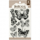 *NEU BoBunny - Clear Stamps Butterfly Kisses 4x6""