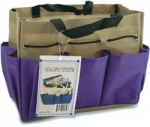 Project Tote small - Purple/Khaki