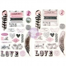 *NEU Prima Marketing - Rose Quartz Puffy Stickers