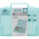 *NEU WE R Memory Keepers - Corp-A-Dile II Big Bite Carrying Case Teal
