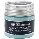 *NEU Prima Marketing - Finnabair Art Alchemy Acrylic Paint Metallique Light Patina 50ml