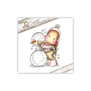 *NEU Magnolia - Aspen Holidays Cling Stamp Me and my Snowman