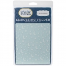 *NEU Carta Bella - Embossing Folder Stars & Moon 5x6""