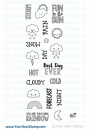 *NEU Your Next Stamp - Clear Stamps Plan the Weather