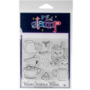 *NEU Your Next Stamp - Clear Stamps Warm Christmas Wishes