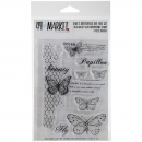 *NEU 49andMarket - Clear Stamps Gabi's Butterflies Are Free