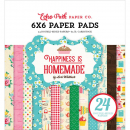 *NEU Echo Park Paper - Happiness is homemade Paper Pad 6x6""