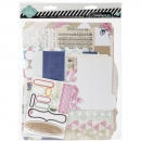 Heidi Swapp - Memory Files Scrapbook Album Kit 9.0x11.5""