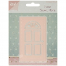 *NEU Joy! Crafts - Home Sweet Home Door Die