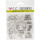 C.C. Designs - Clear Stamps Under The Sea