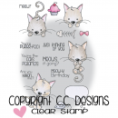 *NEU C.C. Designs - Clear Stamps Meoples Meowy