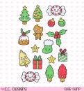 *NEU C.C. Designs - Clear Stamps Set Christmas Things