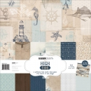 *NEU Kaisercraft - Scrapbooking High Tide Paper Pack 12x12""