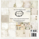 *NEU 49andMarket - Vintage Artistry Collection Pack 12x12""