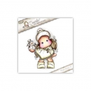 Magnolia - A Lovely Christmas Cling Stamp Tilda with Little Snowy