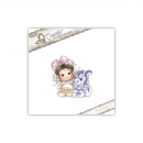 Magnolia - Animal of the Year Cling Stamp Tilda with Dexter the Dragon