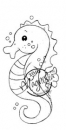 Magnolia - Bon Voyage Cling Stamp Sea Horse