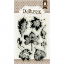 Bo Bunny - Clear Stamps Falling Leaves