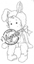 Magnolia - Hoppy Easter Collection Cling Stamp Little Bunny Tilda