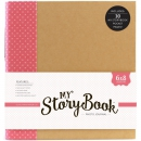 Echo Park Paper - My Story Book 2-Ring Album Pink Dot 6x8""