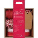 Docrafts - Papermania Create Christmas Gift Tag Kit Red