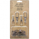 Tim Holtz - idea-ology - Swivel Claps with Chaines