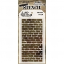 Tim Holtz - Layered Stencil Bricked 4.125x8.5""
