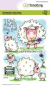 Preview: CraftEmotions Clearstempelset Sheep 1 Carla Creaties A6