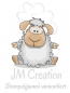 Preview: JM-Creation - Stempelgummi unmontiert Schaf Schrulli