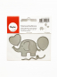 Preview: Rayher - Stanzschablonenset Baby Elephant