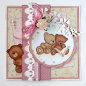 Preview: Joy! Crafts Clearstempelset Teddybären Set 10.0x14.5cm