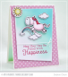 Preview: My Favorite Things - Clearstempelset Magical Unicorns 4x8""