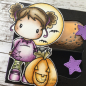 Preview: C.C. Designs - Cling Stamp Oct. 31 Nora