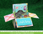 Preview: Lawn Fawn - Stanzschablone Scalloped Box Card pop-up Die