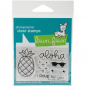 Preview: Lawn Fawn - Clearstempel Set Pineapple Aloha