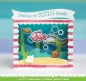 Preview: Lawn Fawn - Stanzschablonenset Shadow Box Card Ocean Dies
